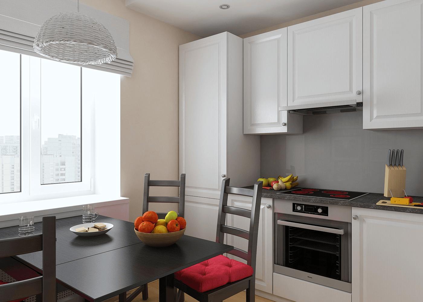 Кухня на пять квадратов дизайн фото