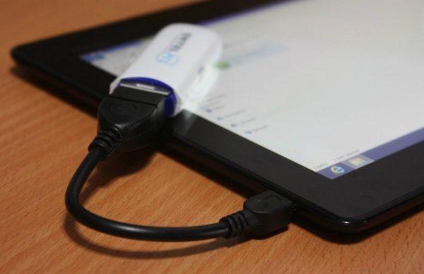 Переходник с выходом USB
