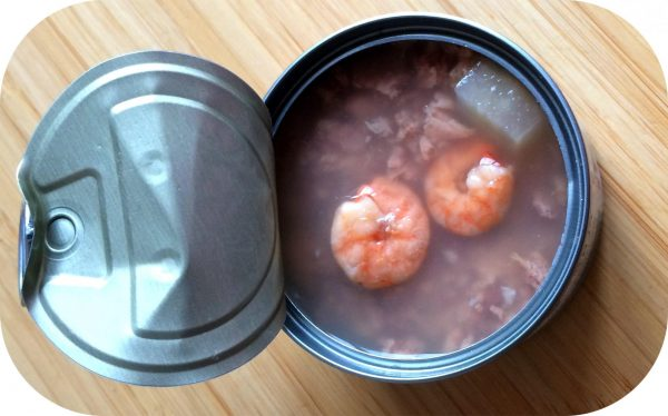 Влажный корм с креветками