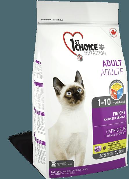 Корм для привередливых кошек