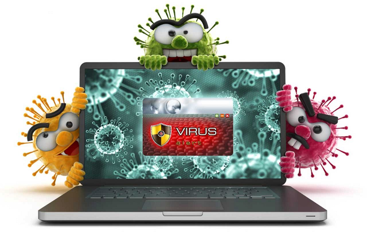 Картинки компьютерного вируса