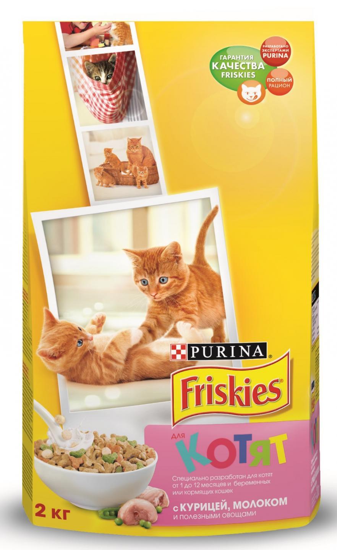 Корм для котят фрискис влажный отзывы