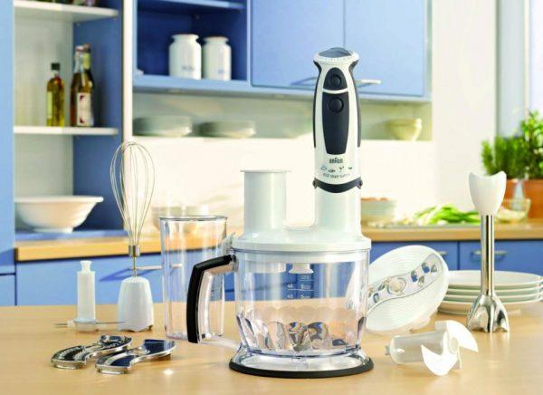 Функциональный блендер Braun на кухне