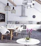 Комфортная кухня-гостиная