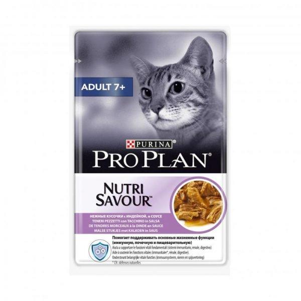 Влажный корм «Проплан» для пожилых кошек
