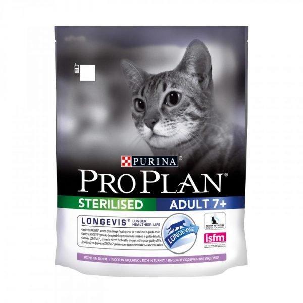 Сухой корм «Проплан» для пожилых стерилизованных кошек