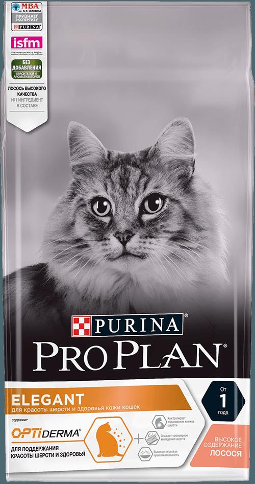 Сухой корм «Проплан» для кошек с чувствительной кожей