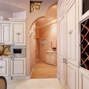 кухня без двери