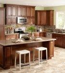 Красивая цветовая гамма в кухне