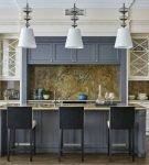 Цветовые акценты в кухонном интерьере
