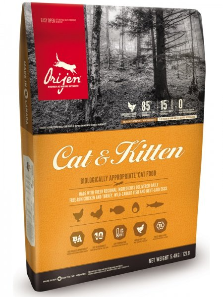 Сухой корм Cat and Kitten