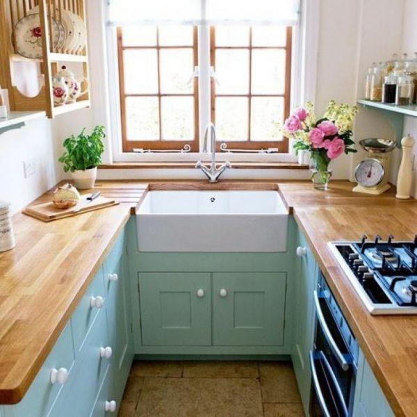 П-образная кухня 5 кв. м