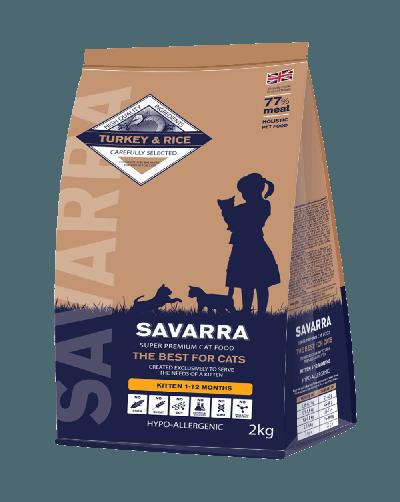 Сухой корм «Саварра» для котят