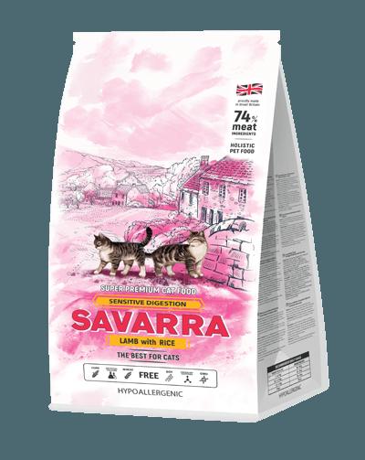 Сухой корм «Саварра» для кошек с чувствительным пищеварением