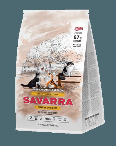 Сухой корм «Саварра» для стерилизованных кошек