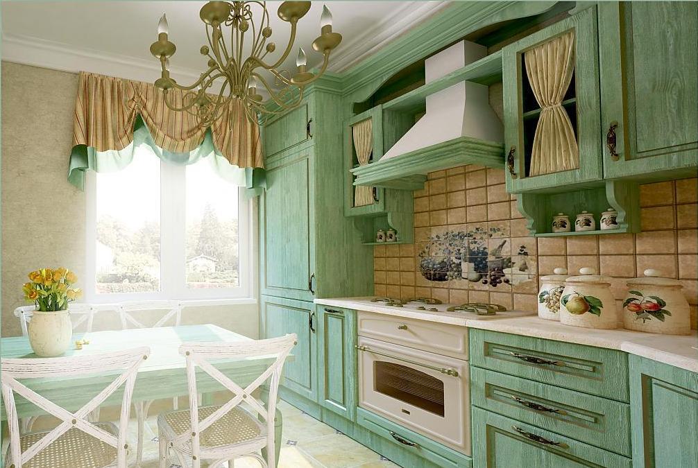 Кухни в стиле прованс картинки