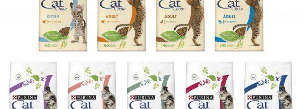 Корма Cat Chow для кошек