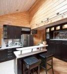 Оформление интерьера кухни в современном стиле