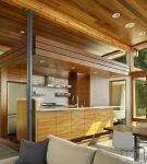 Лаконичный дизайн кухни в современном стиле