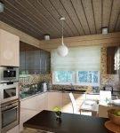 Яркий акцент на кухне в современном стиле