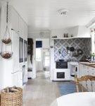 Стиль прованс в оформлении кухни