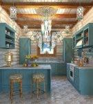 Изящный стиль прованс в оформлении кухни