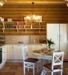 Стиль прованс в оформлении небольшой кухни