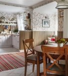 Характерный декор стиля прованс в оформлении кухни