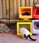 Дома для кошек из мониторов