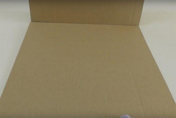 Склеенные картонки