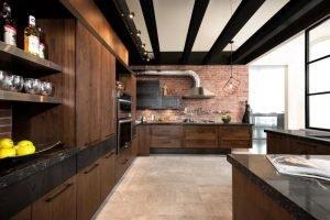прячем трубы на кухне