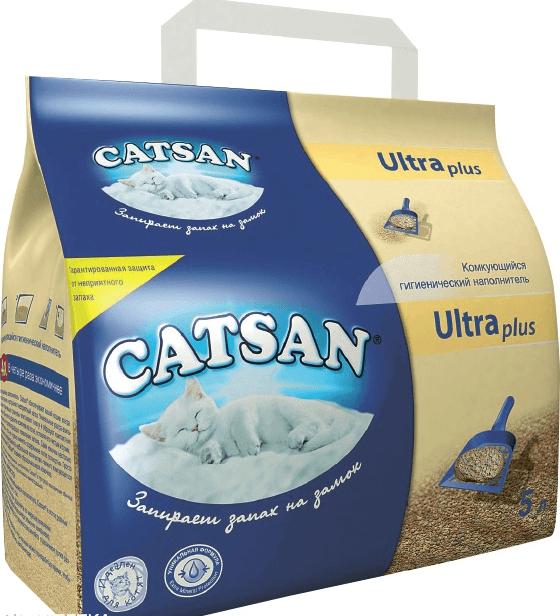 Комкующийся Catsan