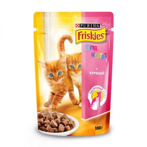 Влажный корм Friskies для котят