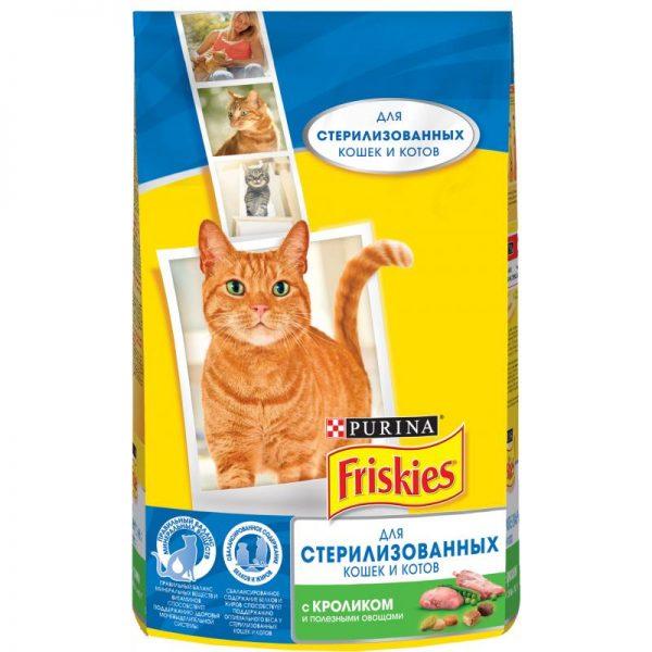 Сухой корм Friskies для стерилизованных кошек