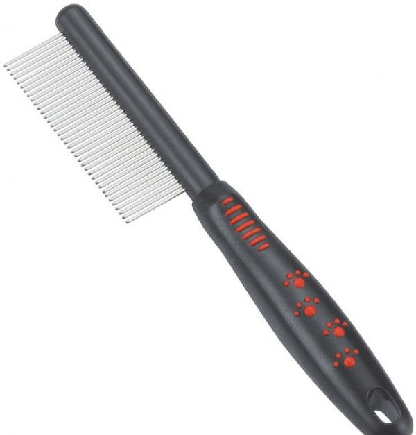 Расчёска с частыми толстыми зубьями