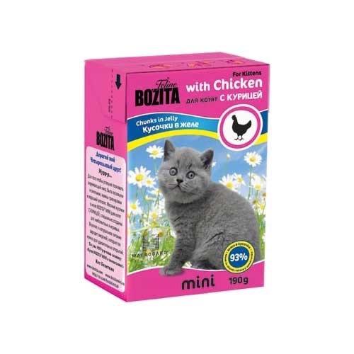 Влажный корм Bozita для котят
