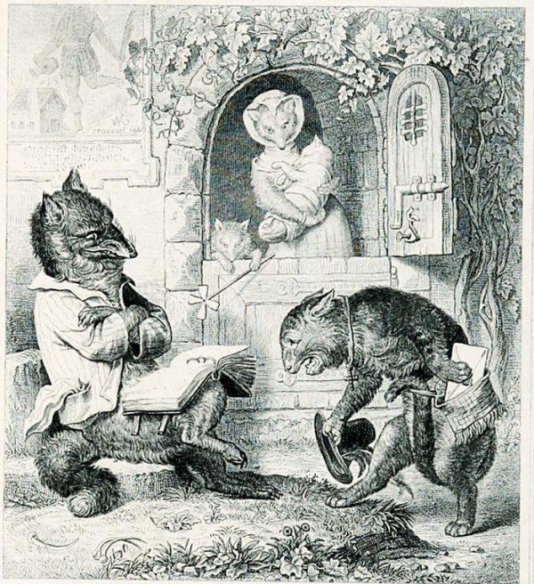 Иллюстрация к «Роману о лисе Рейнеке»