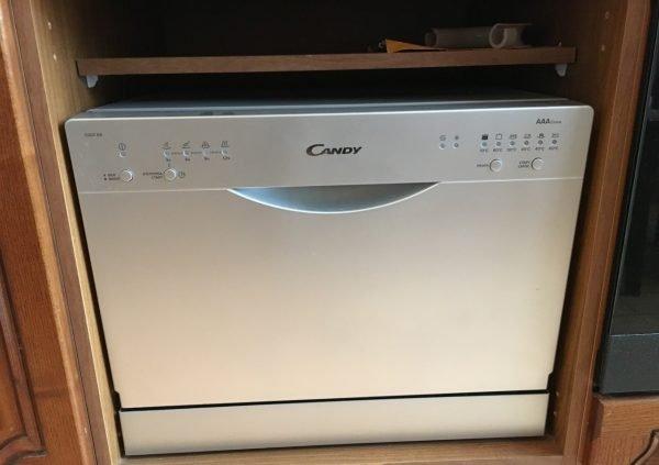 Мини-посудомоечая машина Candy CDCF 6/S