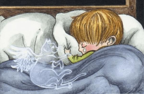 Кошка в детском сне