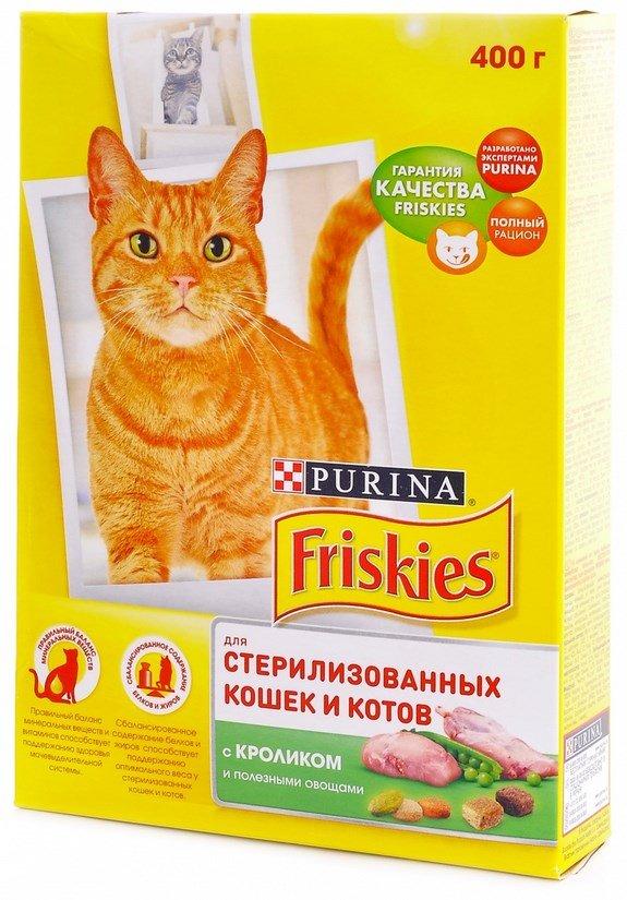 Корм Friskies для стерилизованных кошек