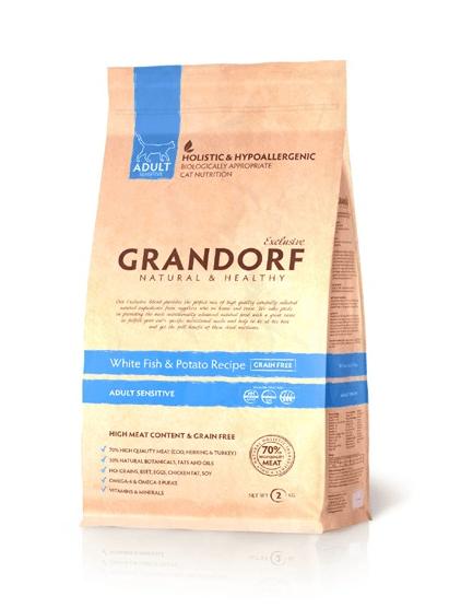 Сухой корм Grandorf для кошек с чувствительным пищеварением