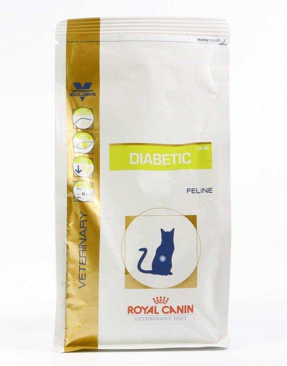 Сухой корм Royal Canin для кошек с сахарным диабетом