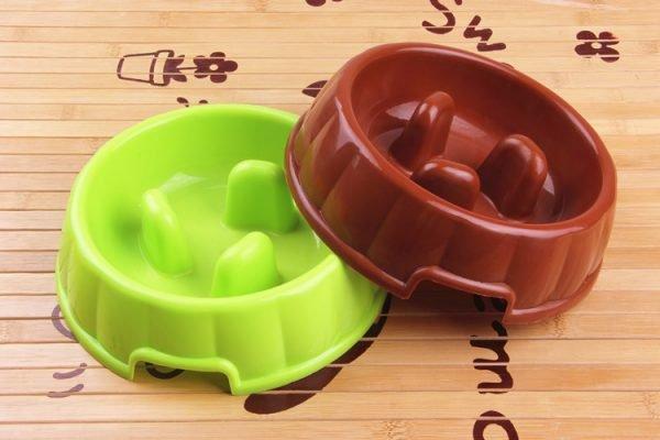 Специальные миски для предотвращения заглатывания корма