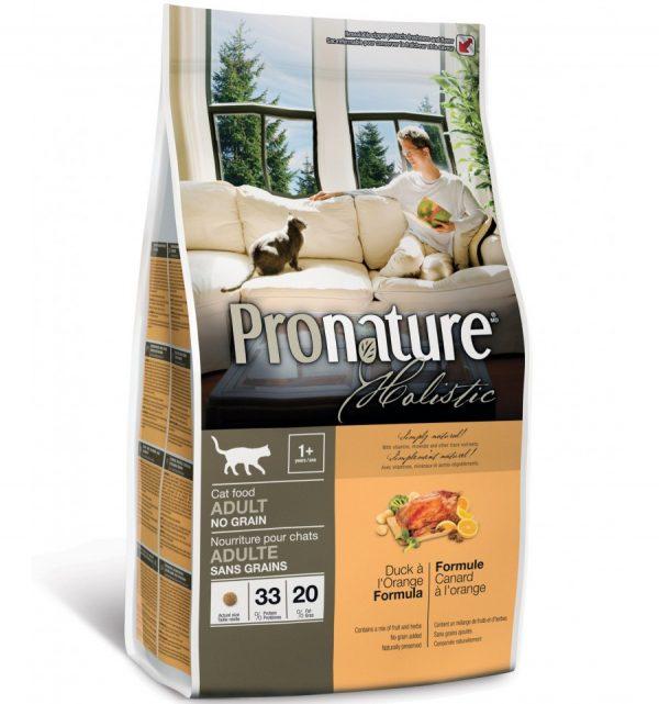 Сухой корм для кошек Pronature