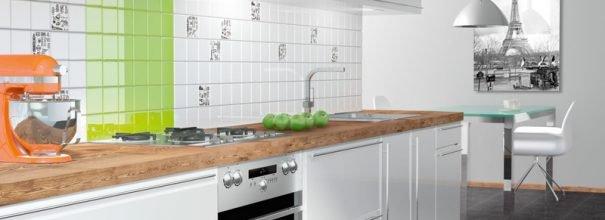 Плитка 10х10 на кухне