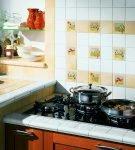 Прямоугольник на фартуке кухонного гарнитура