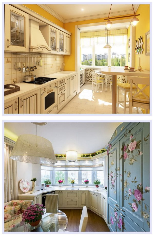 Кухня в стиле прованс и шебби-шик