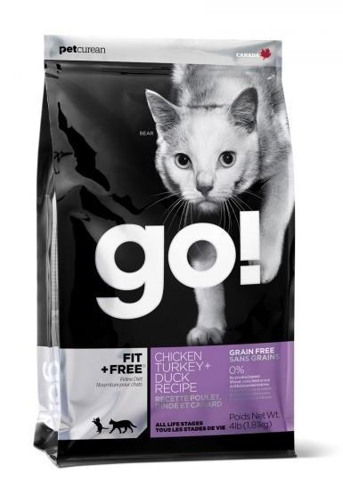 Беззерновой корм Go! Cat Fit + Free