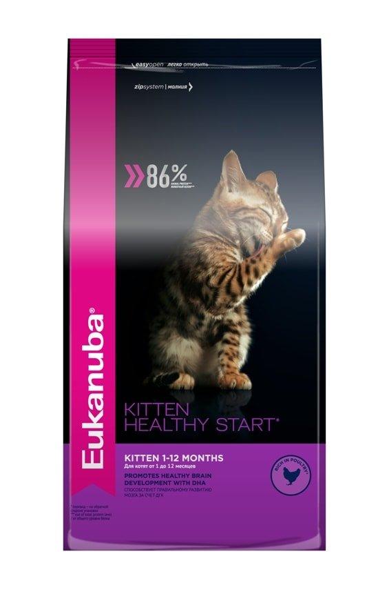 Сухой корм для котят «Эукануба»