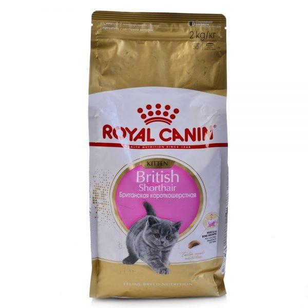 Сухой корм Royal Canin для британских котят